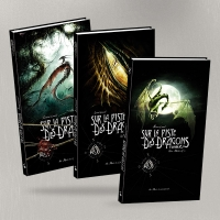 "2005 to 2007 :: "" Black'Mor Chronicles – Sur la Piste des Dragons Oubliés, T. 1-2-3 "" - Au bord des Continents edition (France)"