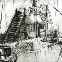 Ship deck 1