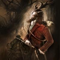 The Master of Hound - © Art by Élian Black\'Mor