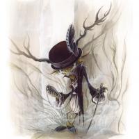 The Dandy of the Moor - Gouache